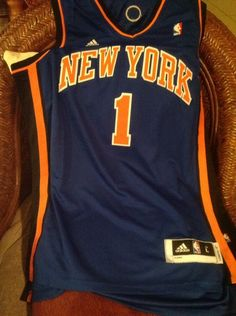 Adidas Swingman NBA Jersey Knicks Amare Stoudemire  1 Size L Lenght+2 Mens a19cf4807
