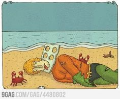 Marine pollution, think about it...