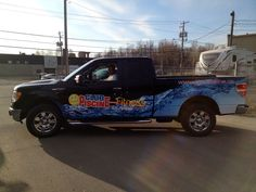 Fantastic truck wrap done by Speedpro Image in Quebec.  Great graphics!  Well Done!