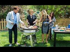 Evo Grilling with the Hallmark Channel's Home and Family Show - YouTube