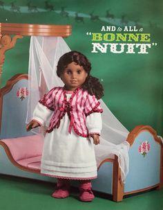 AG catalog 2011 Holiday. Cecile doll.