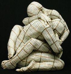'Hsien' (l'attrazione), 2008 - by Rabarama | bronze