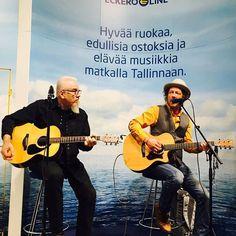 Antti Reini on hurmannut suomalaiset näyttelijänä. Tänään hän ihastuttaa osastollamme laulullaan klo 13, 14, 15 ja 16. Tervetuloa! #eckeröline #matka2017