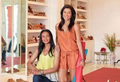 My Mom and her business partner in their beautiful shop. ^_^
