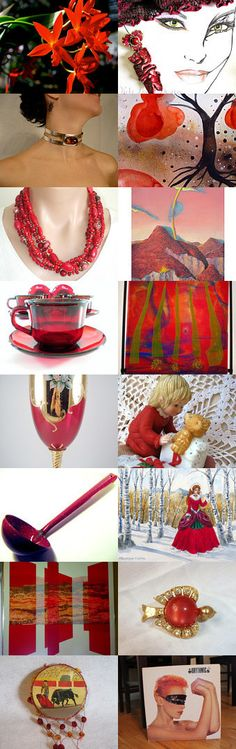Time for Reds!! by Dr. Erika Muller on Etsy--Pinned with TreasuryPin.com