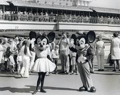 c.1978. Here Minnie is wearing sensible shoes.