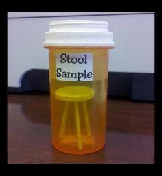 stool sample, funny puns