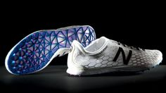 New Balance Adopts 3D Printing To Create Hyper-Customized Track Shoes - The price tag for a custom-printed shoe is probably astronomical at this point, and only worth it if you're a professional athlete. But as 3D printers become easier to use and more ubiquitous, it's not hard to imagine a not-too-distant future where you can get measured up for new sneakers at a store, and come back the next day to pick up your freshly printed kicks.