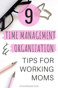 working mom Time management and organization are crucial to survival as a working mom. These 9 must-read time management and organization tips for working moms will help you maximize productivity and stay organized! Working Mom Quotes, Working Mom Schedule, Working Mom Tips, Work From Home Tips, Working Mother, Organized Mom, Staying Organized, Time Management Tips, Organization Hacks