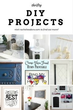 Create Link Inspire Party with Thrifty DIY Projects