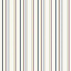 "Kids Wide 33' x 20.5"" Stripes Wallpaper"