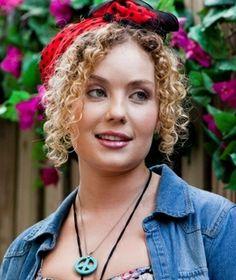 Millie Switkowski , nurse & medical student has spiral curls just like Gracie Gilbert