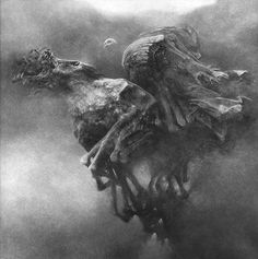 THE BEAUTIFUL NIGHTMARES OF ZDZISLAW BEKSINSKI    Artist Zdzislaw Beksinski (24 February 1929 – 21 February 2005) was a renowned Polish painter, photographer, and sculptor.