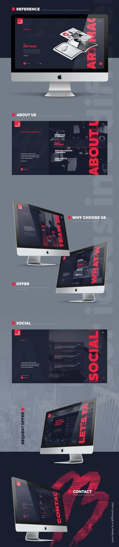 93 Agency Website Free PSD – Pinspiry