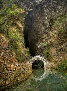 Moon Bridge - Zhangjiajie, Hunan, China | Incredible Pictures
