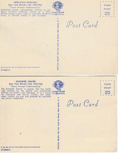 1964/1965 World's Fair Postcards: Pepsi-Cola & by Arfberger