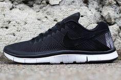 Nike Free Trainer 3.0 – Black – Metallic Silver