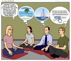haha yep. #meditation #yoga #funny
