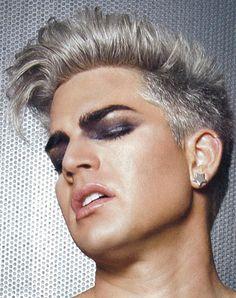 Adam Lambert, I have no words... *__* | Source: InRock Magazine