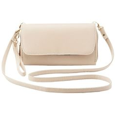 Charlotte Russe Detachable Strap Crossbody Bag ($16) ❤ liked on Polyvore featuring bags, handbags, shoulder bags, nude, crossbody wristlet, pink shoulder bag, pink purse, zipper pouch and coin purse