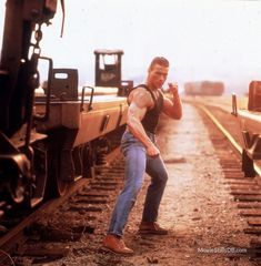 A gallery of Lionheart publicity stills and other photos. Featuring Jean-Claude Van Damme, Jean-Claude Van Damme, Jean-Claude Van Damme, Harrison Page and others. Claude Van Damme, 1990 Movies, World Of Warriors, Johnny Cage, Martial Artists, Stay In Shape, Hollywood Actor, Bruce Lee, Classic Movies