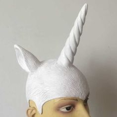 Unicorn Horns Hat Latex For Party