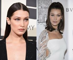 Celebrity Inspiration: Fresh Ideas on Best Hairstyles 2018 - Bella Hadid root beer hair color Protective Hairstyles, Pixie Hairstyles, Pixie Haircut, Celebrity Hairstyles, Hairstyles 2018, Bella Hadid, Easy Everyday Hairstyles, Back To School Hairstyles, Hair Color 2018