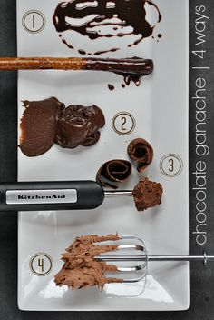 Chocolate Ganache | 4 Ways to Use it...