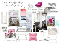 Custom Home Office eDecorating Package by BirdcageInteriors, €199.00
