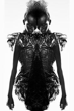 Collaboration with Guillaume Macé Photograph: Sébastien Jardini Makeup: Dariia Day Hair: Kevin Rajsavong