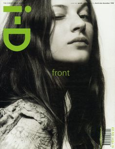 first shoots: david sims | i-D Magazine [The Cheeky Issue, no. 182, Decmember 1998]