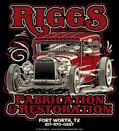 Design for Riggs Fabrication & Restoration