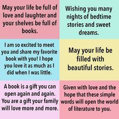 Baby Book Inscription Ideas