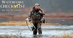 Waterfowl Hunting Checklist