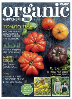 With summer knocking on the garden gate, ABC Organic Gardener preps you for sizzling days ahead. Plant, prune and savour delicious heirloom tomatoes, discover Aussie bush fruits to plant now, and explore the wonders of hemp. Plus, we bring you water-saving tips and slim-line tank designs, heat-loving flowers to plant for summer colour, and two talented winemakers turning organic fruit into award-winning vino! Growing Tomatoes, Dried Tomatoes, Water Saving Tips, Paradise Flowers, Pruning Tomato Plants, Organic Fruit, Grow Organic, Heirloom Tomatoes, Fruits And Vegetables