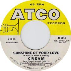 Sunshine Of Your Love - Cream (1968)