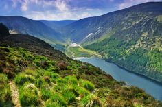 Adventurous Travels: Glendalough, Wicklow Mountains National Park, Ireland - The Valley of Two Lakes and The Monastic City