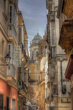 Calle Compañía. Cádiz