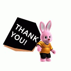 The perfect Duracell Bunny Battery Animated GIF for your conversation. Thank You Gifs, Thank You Wishes, Thank You Images, Stickers Emojis, Thank You Stickers, Thanks Gif, Thanks Card, Cute Funny Baby Videos, Cute Funny Babies