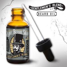 Image of GRAVE BEFORE SHAVE Gentlemen's Blend Beard Pack (Bourbon Scent)