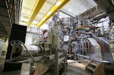 Vorbereitung am 1. Februar: In der Kernfusions-Forschungsanlage Wendelstein 7-X...