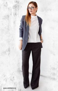 Outfit im skandinavischen Mode Stil