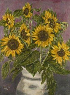 Muriel Clark - Sunflowers