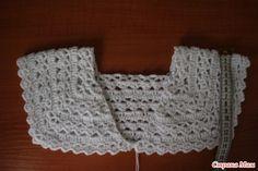 Bolero Based On Doris Chen - Best Knitting Crochet Woman, Crochet Top, Crochet Hats, Crochet Bolero Pattern, Crochet Feather, Tulle Dress, Crochet Clothes, Baby Dress, Crochet Projects