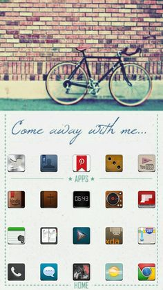 [Homepack Buzz] Check this awesome homescreen! Ron Huxley | My Homepack Come Away With Me: Jake icons from Jaku Repository. Wallpaper mod from unknown source.