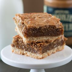 Biscoff Brown Sugar Bars are deeply warm and sweet with an ooey gooey filling held in place by the deliciously buttery crust.
