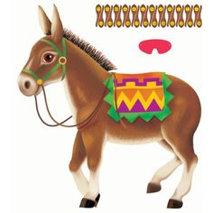 Amscan Party Game-Pin The Tail On The Donkey - Listing price: $17.94 Now: $3.43