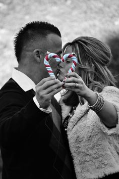 Christmas Love #christmas #love #couple #candycane #holiday #photography #portrait