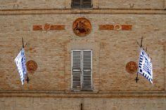 Facciata lato Sud palazzo gentilizio. #marcafermana #servigliano #fermo #marche