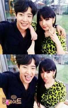 Park Min Woo and Park Bom 2NE1 on Roommate reality show